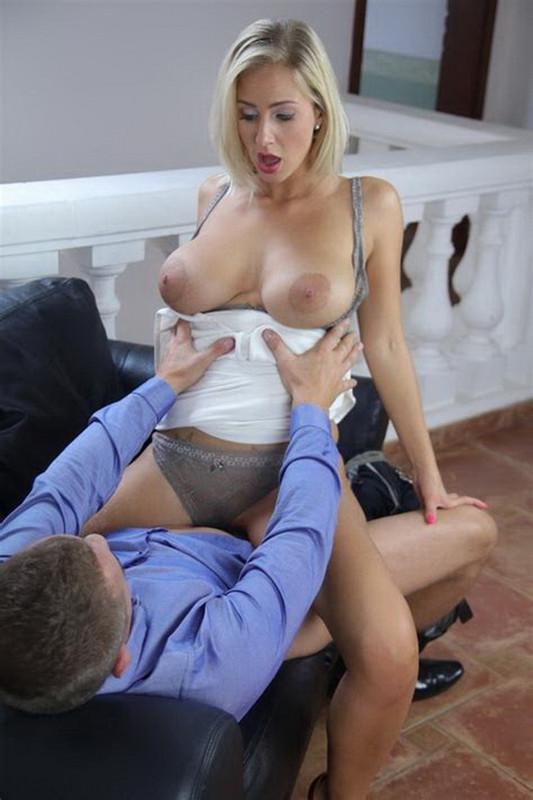 Nathaly Cherie - Romantic Fuck for Leggy Blonde MILF (2021 MomXXX.com SexyHub.com) [FullHD   1080p  912.01 Mb]