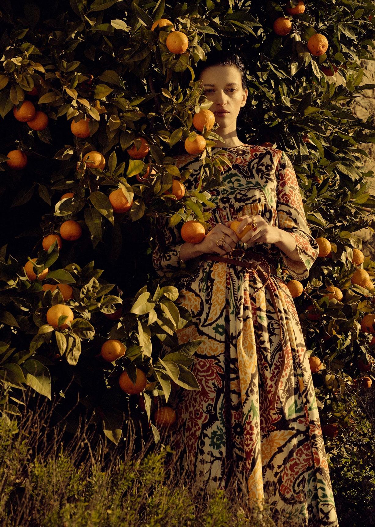 Алина Михеева и модная коллекция Dior на ферме под Флоренцией / фото 03
