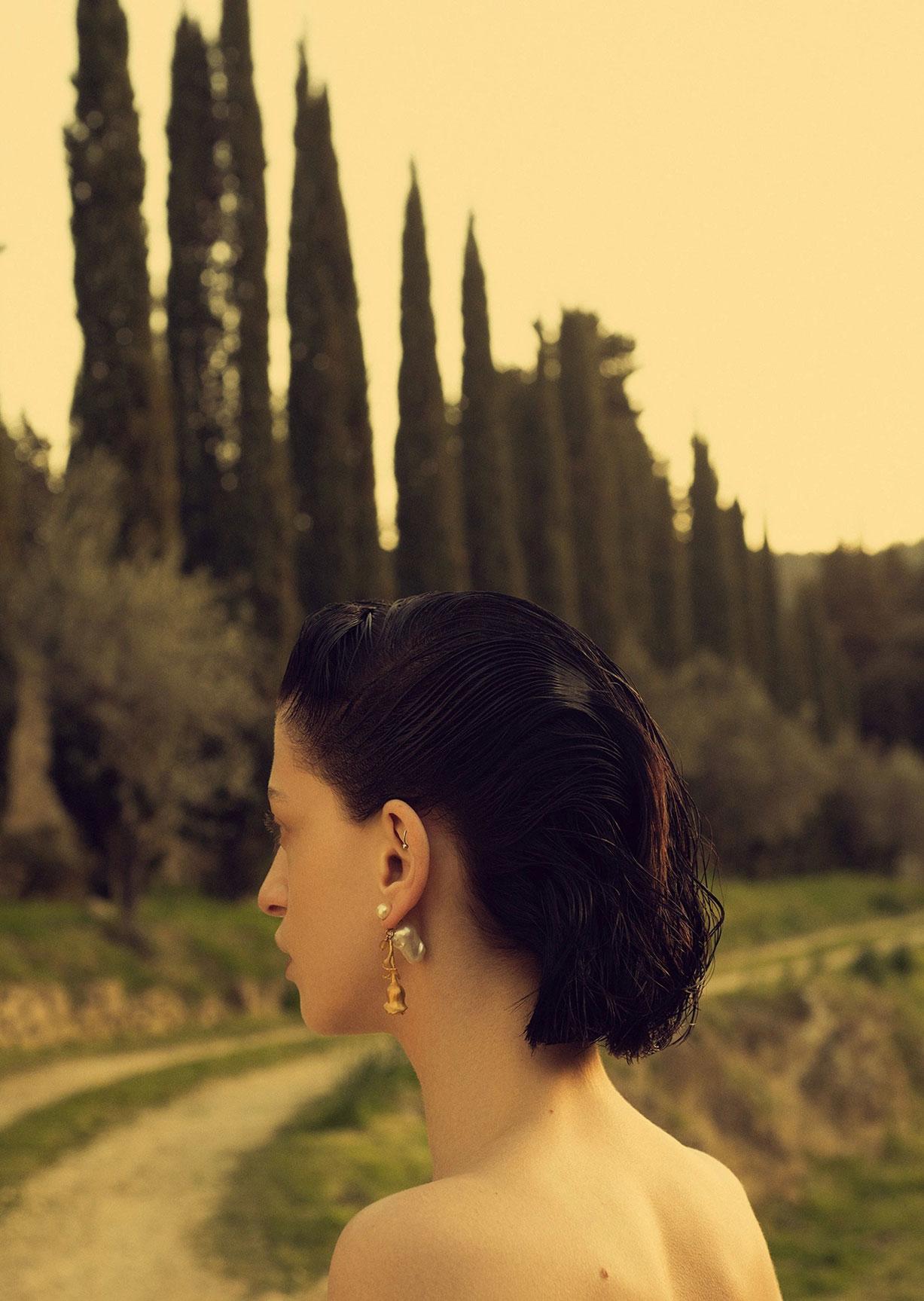 Алина Михеева и модная коллекция Dior на ферме под Флоренцией / фото 08