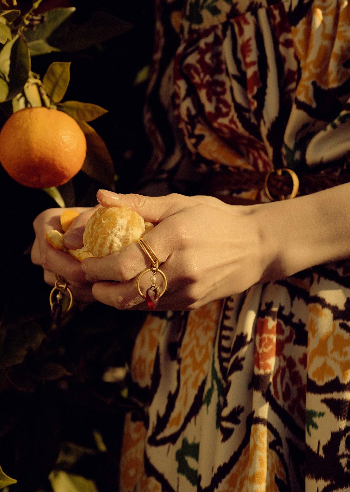 Алина Михеева и модная коллекция Dior на ферме под Флоренцией / фото 13