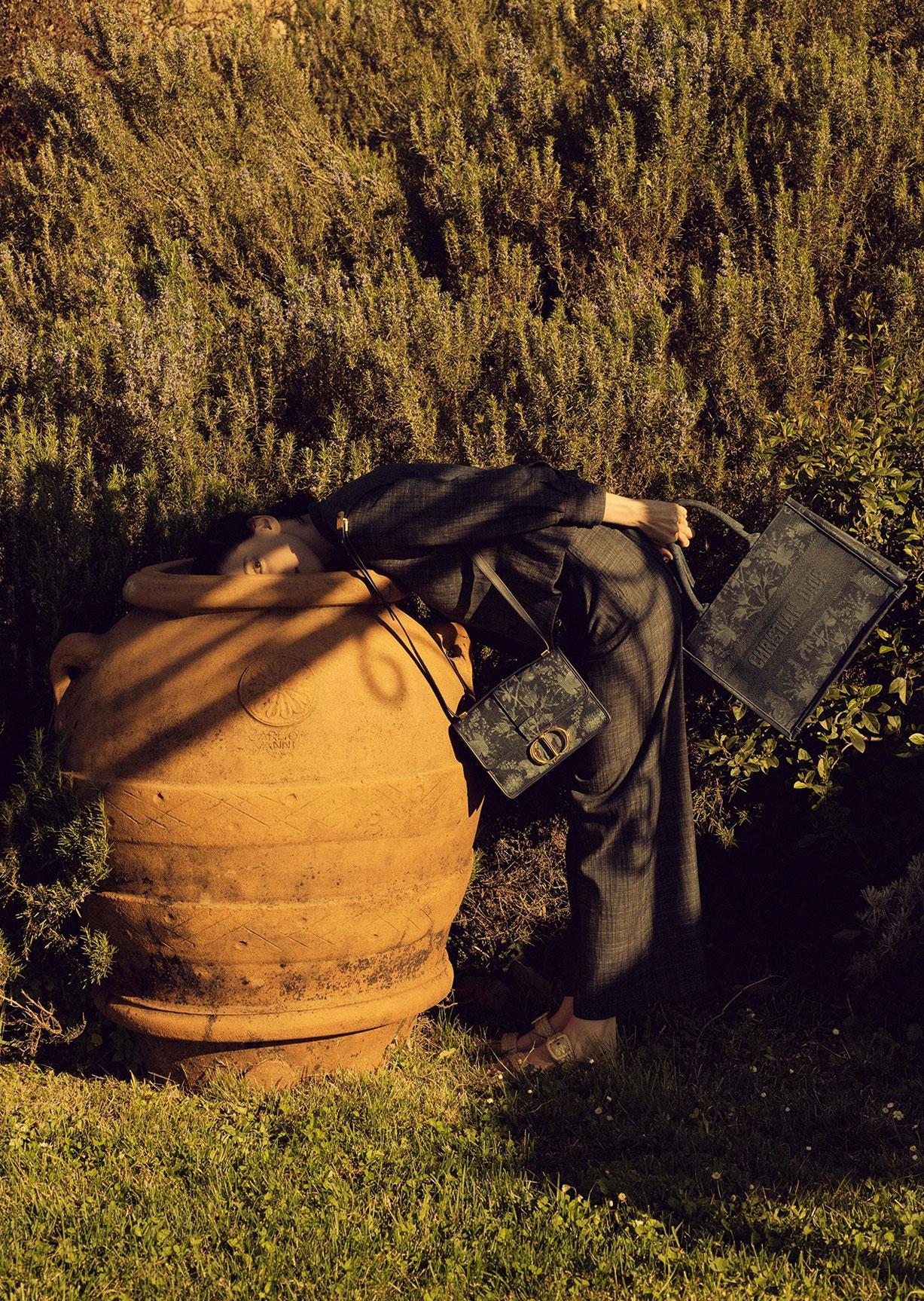 Алина Михеева и модная коллекция Dior на ферме под Флоренцией / фото 14