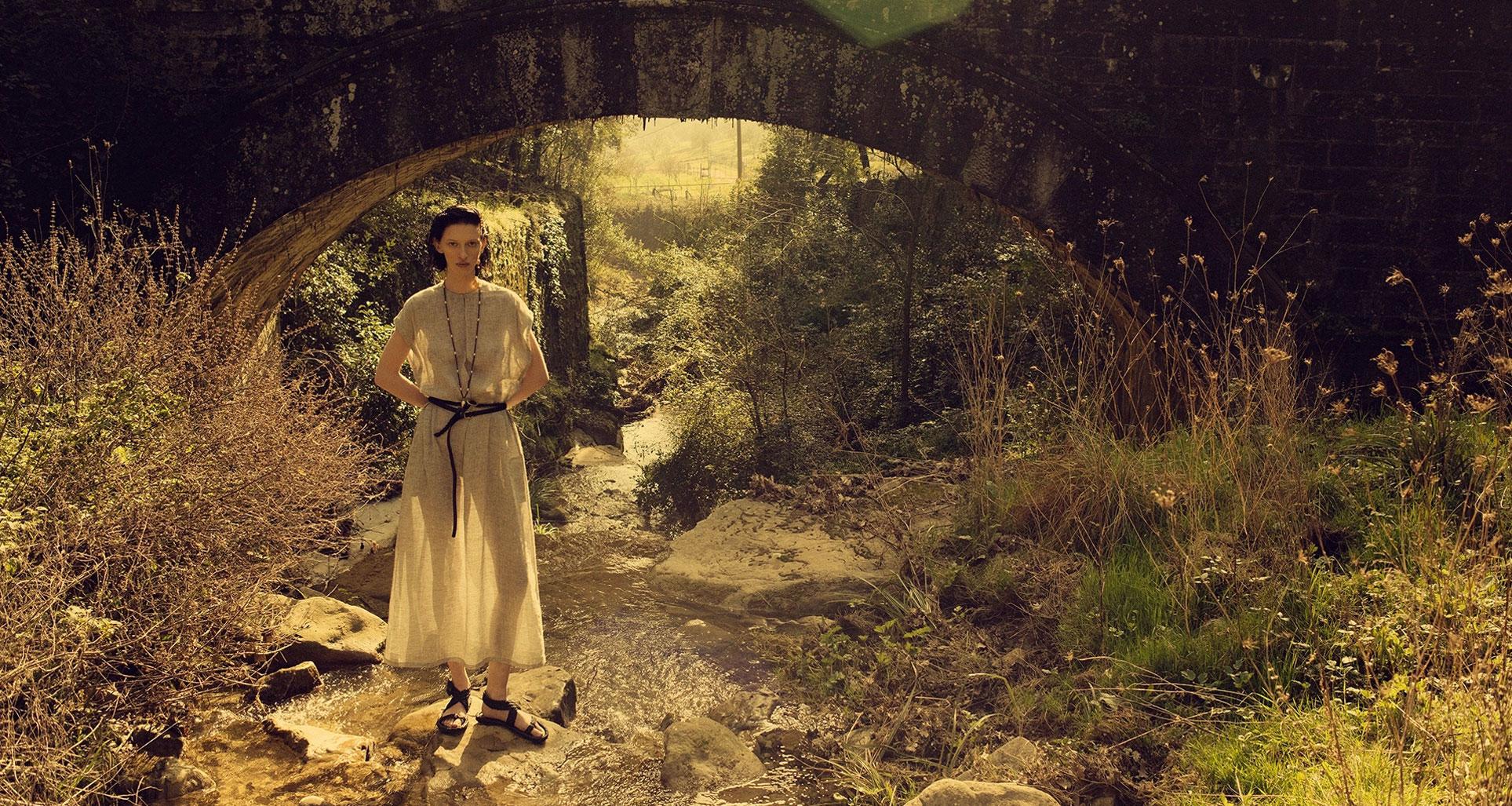 Алина Михеева и модная коллекция Dior на ферме под Флоренцией / фото 15