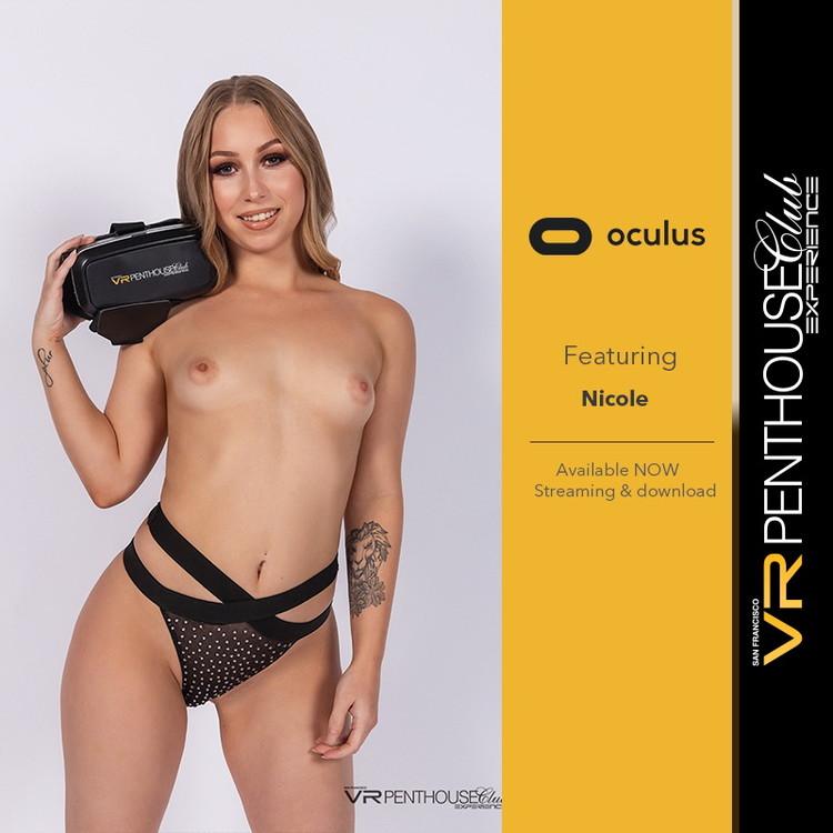 VRclubz: Nicole - Penthouse Private Dance [UltraHD 4K 2580p] (Virtual Reality)