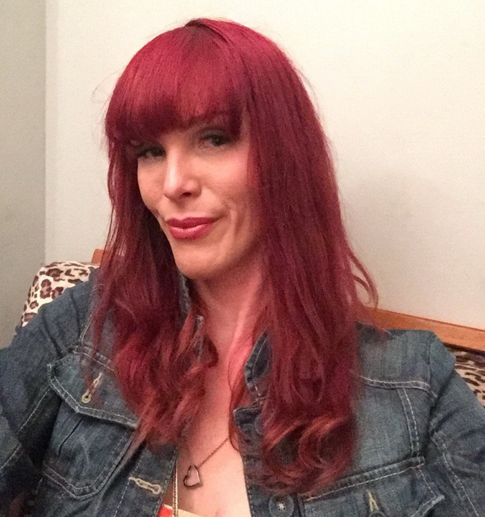 Pure-TS: Staci Miguire - mature amazon Staci Miguire gets barebacked [FullHD 1080p] (Transsexuals)