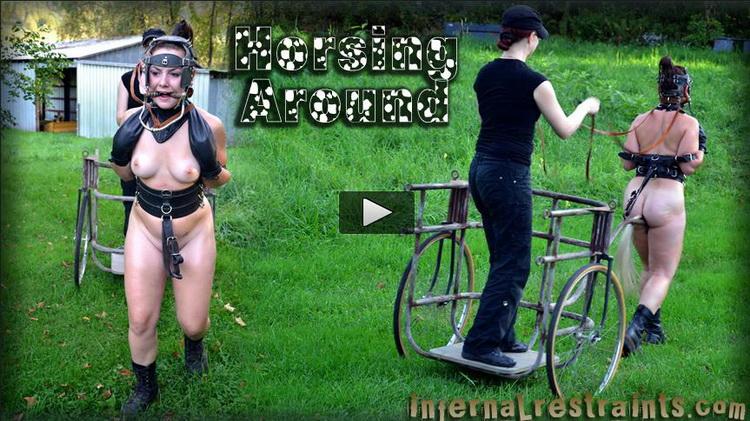 Sasha, Claire Adams ~ Horsing Around ~ InfernalRestraints ~ HD 720p