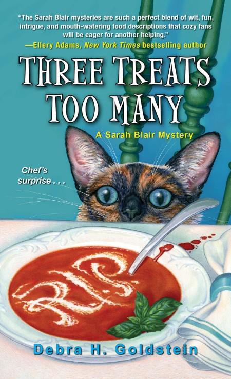 Three Treats Too Many by Debra H  Goldstein