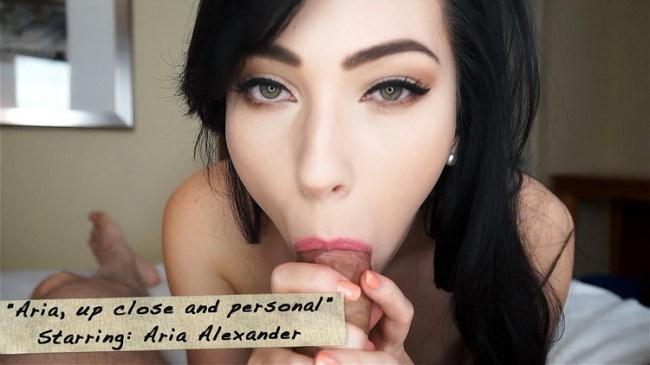 Aria Alexander - Aria, up close and personal (2021 Mark's head bobbers and hand jobbers Clips4Sale.com) [FullHD   1080p  1.11 Gb]