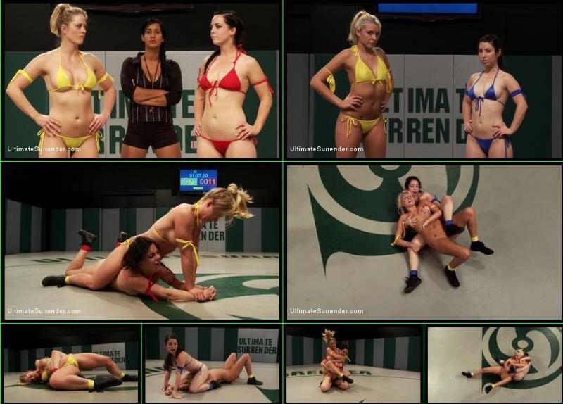 Holly Heart, Katie Summers, Serena Blair, Bryn Blayne ~ Bonus: Serena Blair vs Katie Summers, Bryn Blayne vs Holly Heart ~ UltimateSurrender.com/Kink.com ~ HD 720p