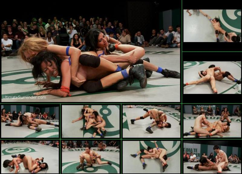 Rain DeGrey, Tia Ling, Cheyenne Jewel, Kaylee Hilton, Beretta James ~ June Tag Team Rd 3: The Final Round ~ UltimateSurrender.com/Kink.com ~ HD 720p