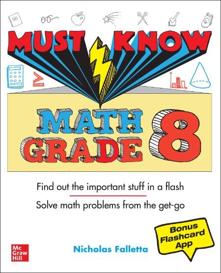 Nicholas Falletta Must Know Math Grade 8McGrawHill Education 2021