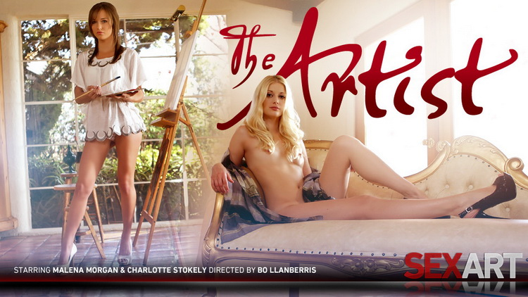 Charlotte Stokely, Malena Morgan - The Artist [SexArt / FullHD 1080p]