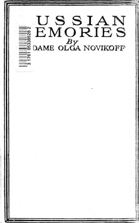 Novikoff Russian Memories
