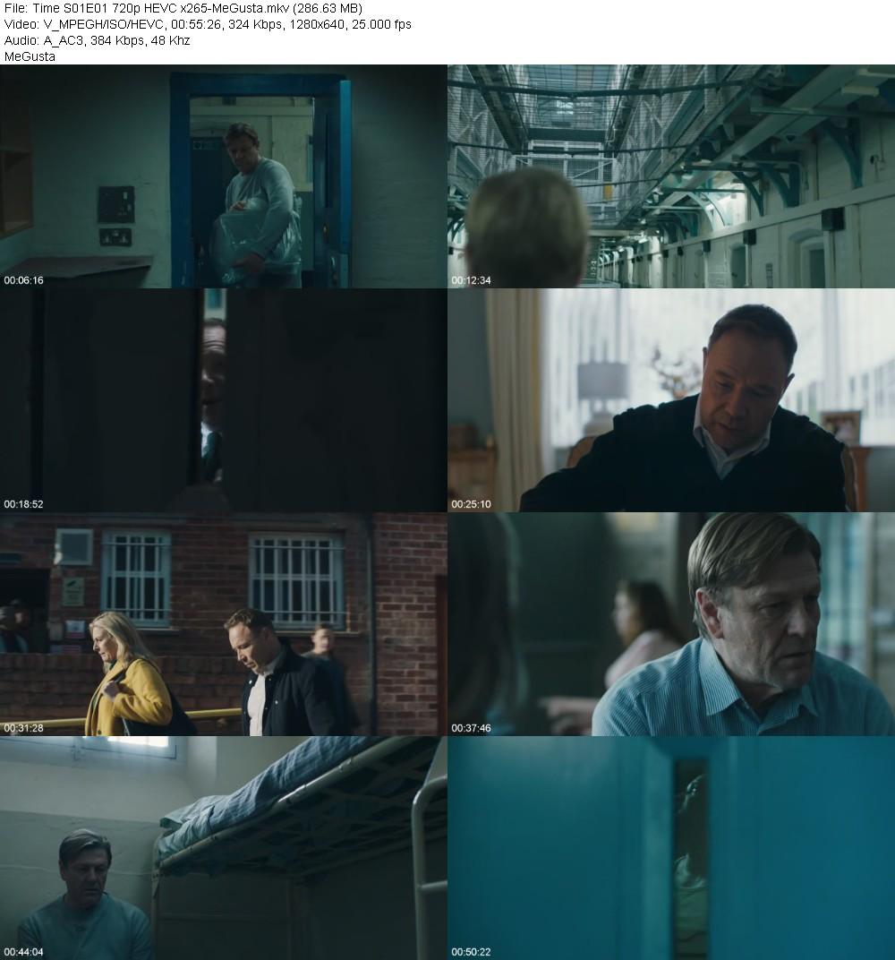 Time S01E01 720p HEVC x265-MeGusta