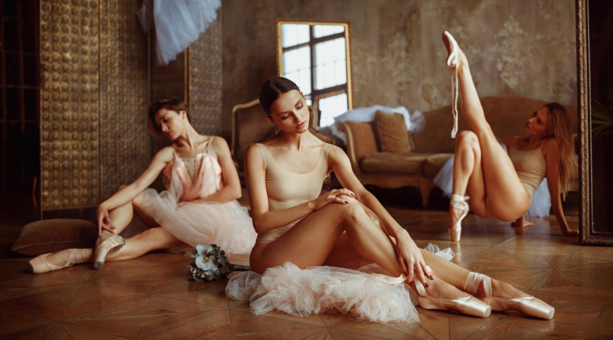 Балерины отдыхают / фото 05