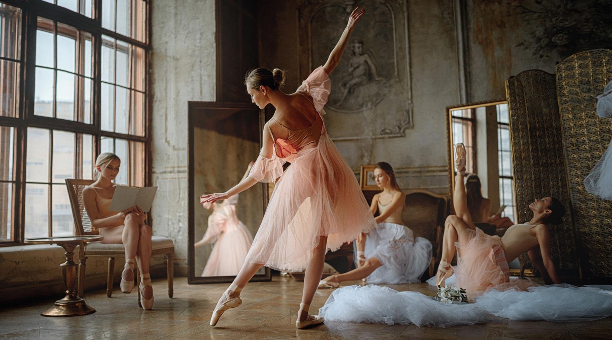 Балерины отдыхают / фото 06