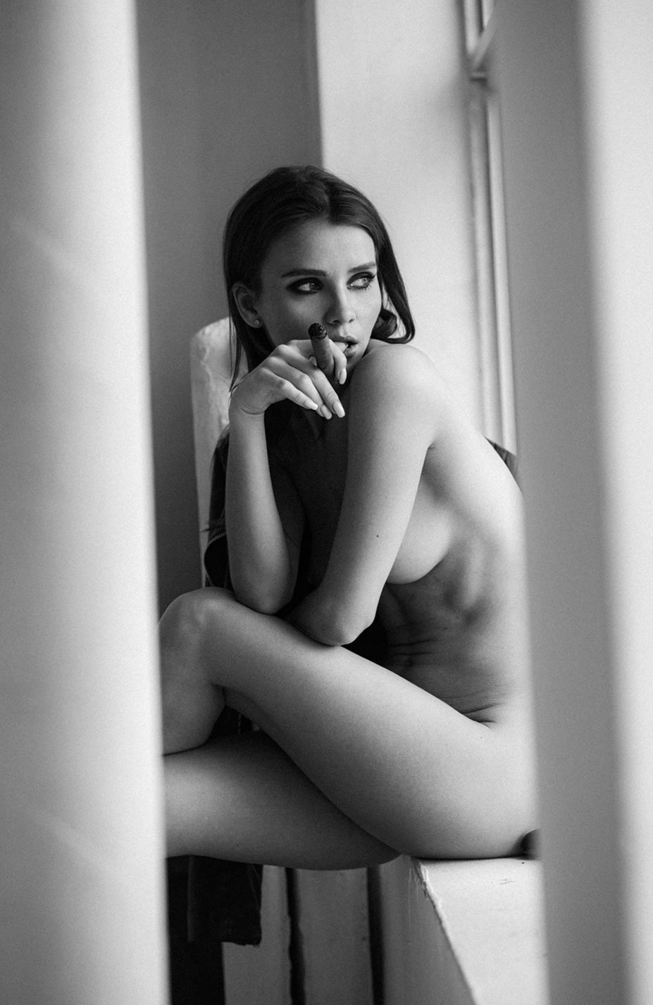 Кристина Макарова экспериментирует со стремянкой / фото 04