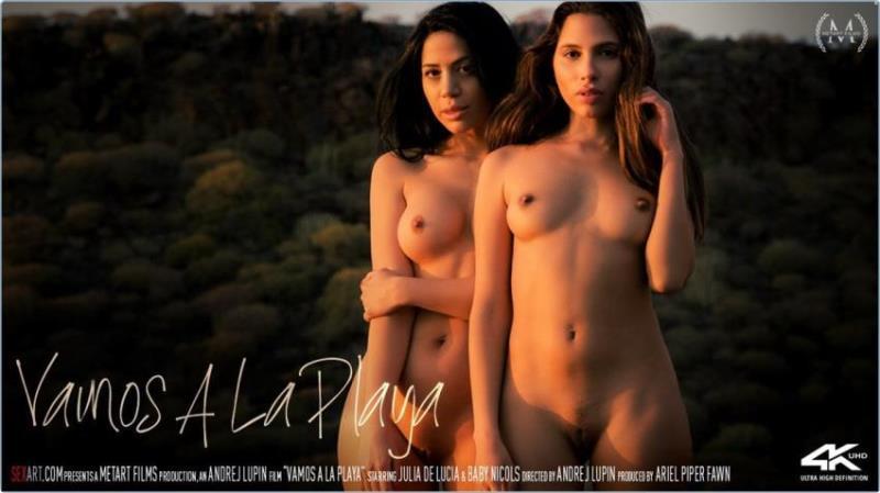 SexArt.com: Baby Nicols, Julia De Lucia - Vamos A La Playa [HD 720p] (589.98 Mb)
