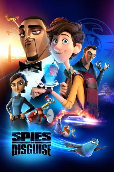 Spies in Disguise 2019 UHD BluRay 2160p TrueHD Atmos 7 1 HEVC-DDR
