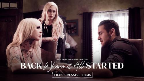 Transfixed.com/AdultTime.com: Jenna Gargles, Gracie Jane, Dante Colle - Back Where It All Started [FullHD 1080p] (1.63 Gb)