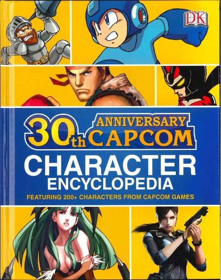 30th Anniversary Capcom Character Encyclopedia
