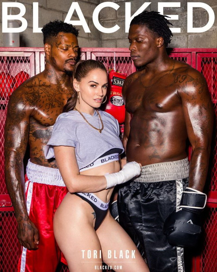 Blacked: Tori Black - The Big Fight [FullHD 1080p] (Threesome)
