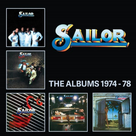 Sailor - The Albums (5CD Boxset) (2018)