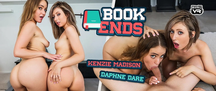 WankzVR: Daphne Dare, Kenzie Madison - Book Ends [FullHD 1080p] (4.52 GB)
