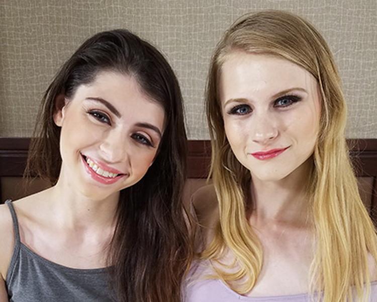 ExploitedCollegeGirls: Charlotte and Chloe - Threeway [HD 720p] (Threesome)