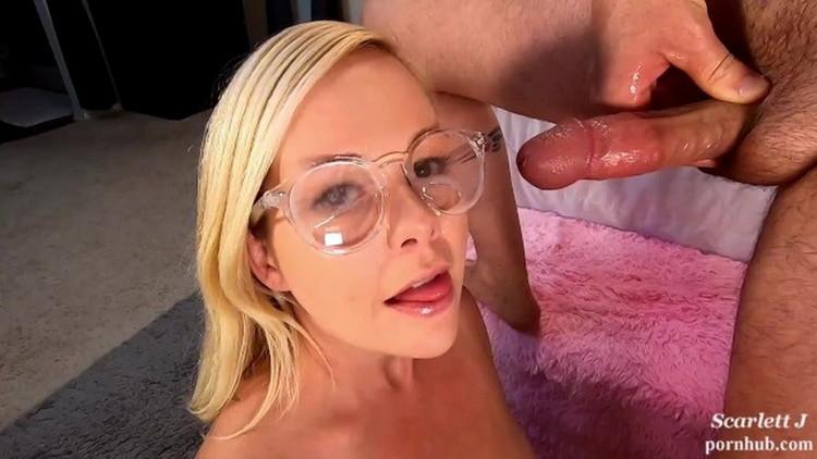 Porn: Scarlett J - Nerdy girl glasses are great for [UltraHD 2K 1980p] (1.35 GB)