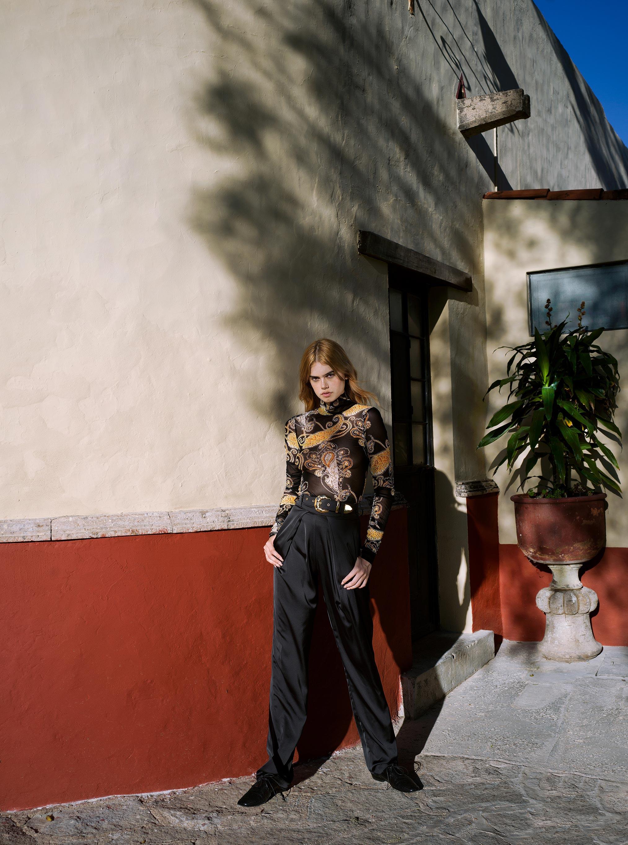 Паола Мендес - съемка в штате Халиско, Мексика / фото 02