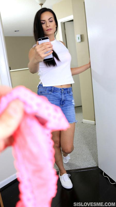 SisLovesMe.com: I said free me not grope me! Starring: Alexis Dean