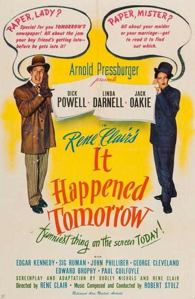 It Happened Tomorrow 1944 1080p BluRay x265-RARBG
