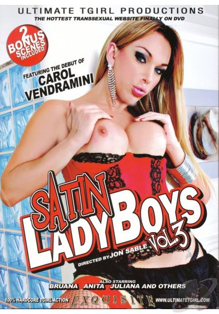 Carol Vendramini - Satin Ladyboys #3 [Ultimate Tgirl / SD 432p]