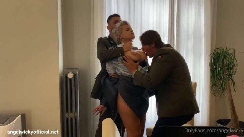 Angel Wicky - Army DP [FullHD/1080p/1.3 Gb] OnlyFans.com/AngelWickyOfficial.net