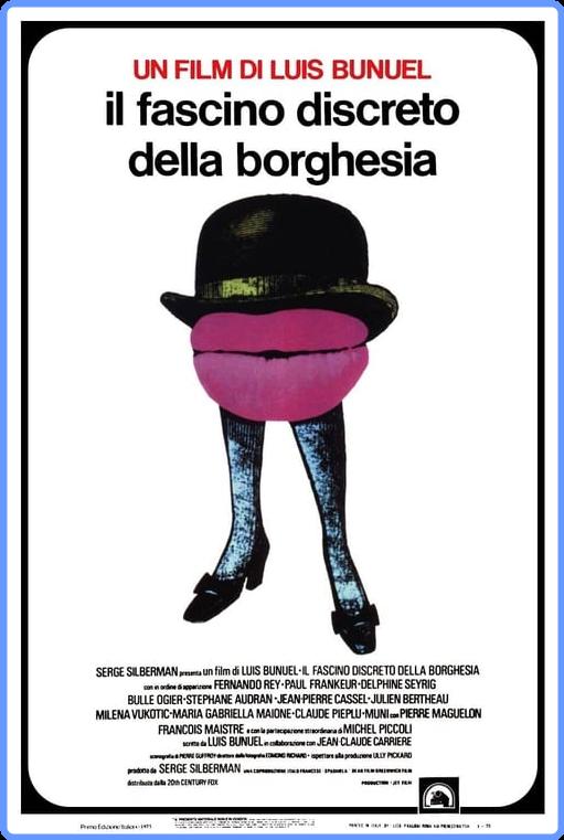 Il Fascino Discreto Della Borghesia (1972) CRITERION mkv HD m720p BDRip x264 AC3 ITA/FRE Sub ITA/ENG/FRE