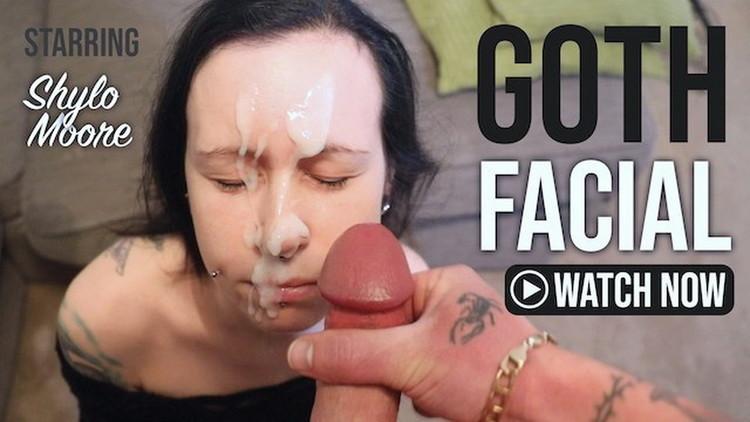 Harry Bada Bing - Cute Goth Girl Gets Huge Facial After Giving Blowjob [UltraHD 2K/1980p/407 MB] Porn
