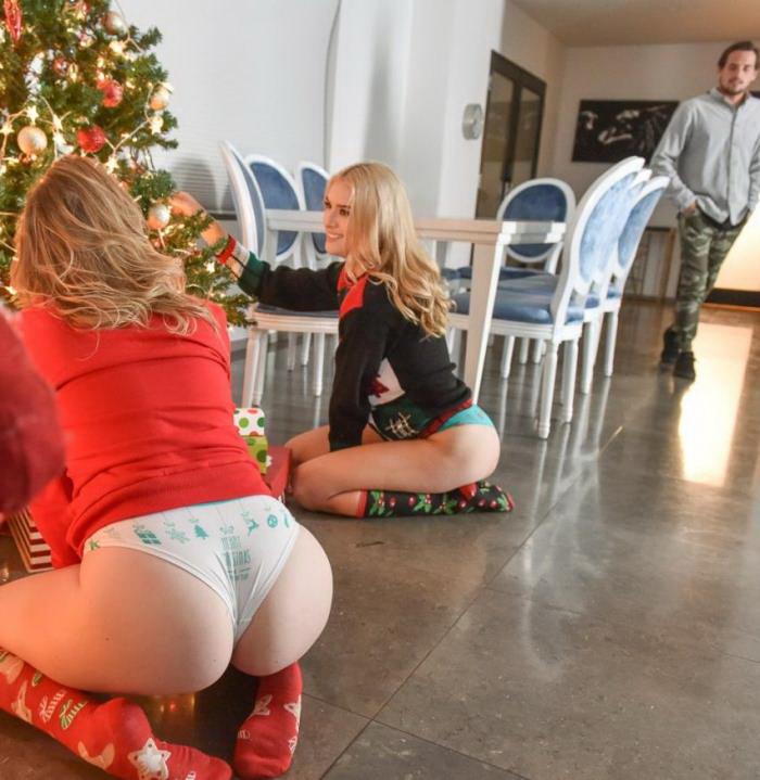 Britney Light, Mazzy Grace - A Package From Santa [FullHD3.93 GB] StepSiblings/TeamSkeet